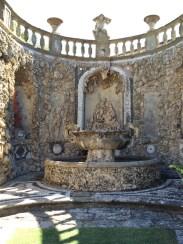 Water feature in the Cabinetta, Villa Gamberaia