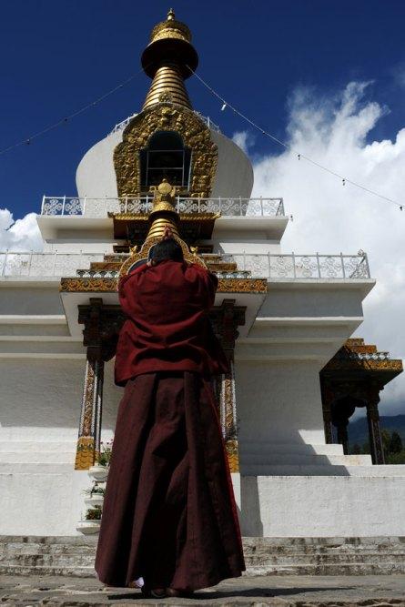Monastery in Thimphu, Bhutan