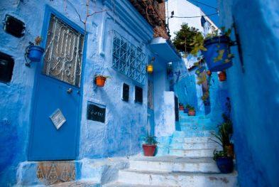 Streetscape, Chefchauen, Morocco