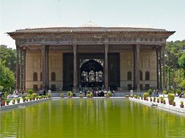 Chehel Sotun, Pavilion of Forty Pillars, Isfahan