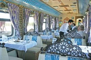 Orient Silk Road Express restaurant car