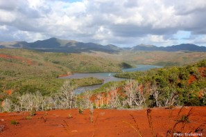 Landscape of New Caledonia. Photo Toutazimut