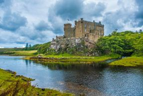Dunvegan Castle on the Isle of Skye