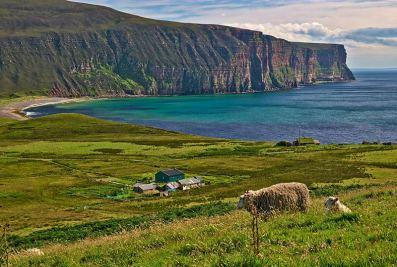 Typical Orkney coastline ©Peter Stenzel/Flickr