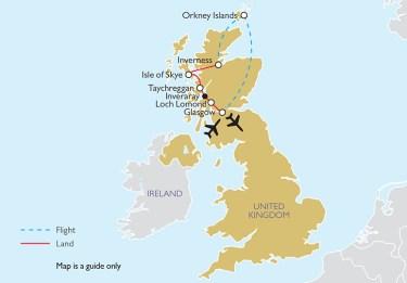 Great Gardens of Scotland MAP