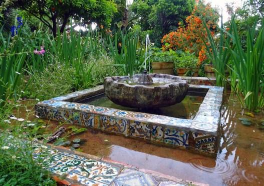 Private garden of Umberto Pasti, Tangier. Image: Sabrina Hahn