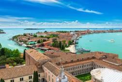 The island of Giudecca (view from Basilica di San Giorgio Maggiore)