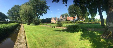 Casle Oostekerke Damme Belgium. Image courtesy Castle Oostkerke