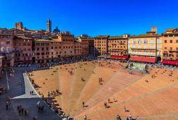 The Piazza del Campo, Siena