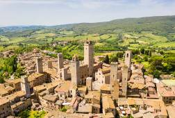 The medieval village of San Gimignano