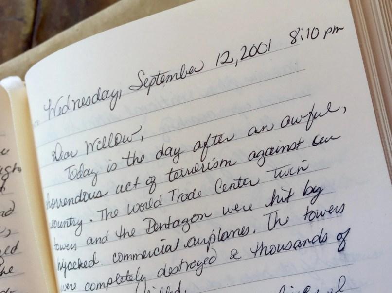 September 12, 2001 Entry