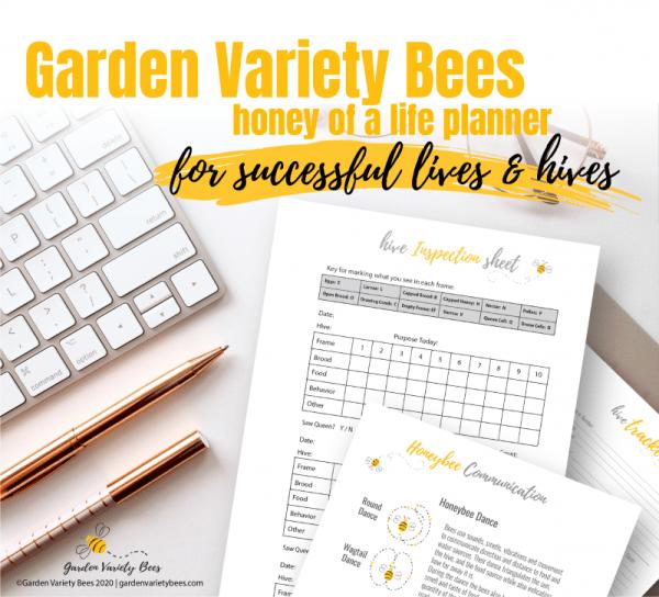 Beekeeping Planner Inspection sheet