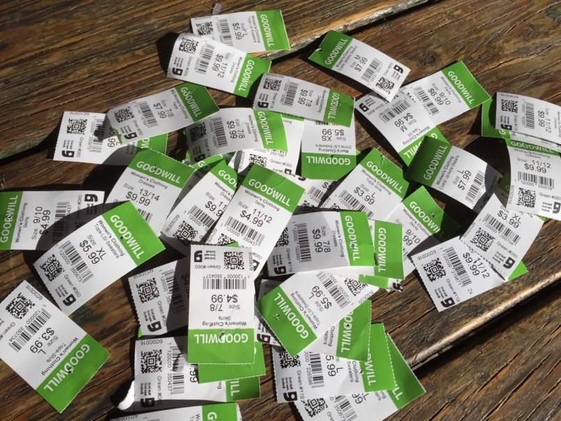 $1.50 Green Tags