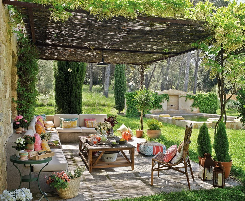 Photo | An Outdoor Living Room with Interior Appeal ... on Fancy Outdoor Living id=54248