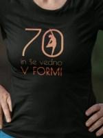 x let in še vedno v formi vpiši željena leta majica