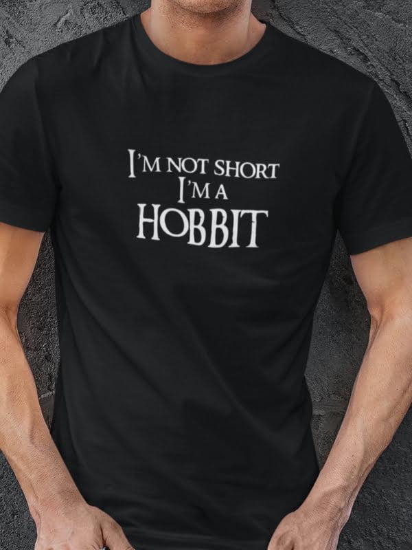 I am not short i am a hobbit majica