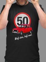 Majica Bolj star, bolj nor! 50 - katrca