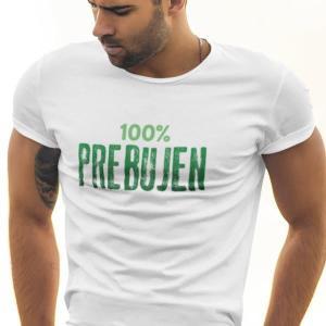 100 Prebujen, majica