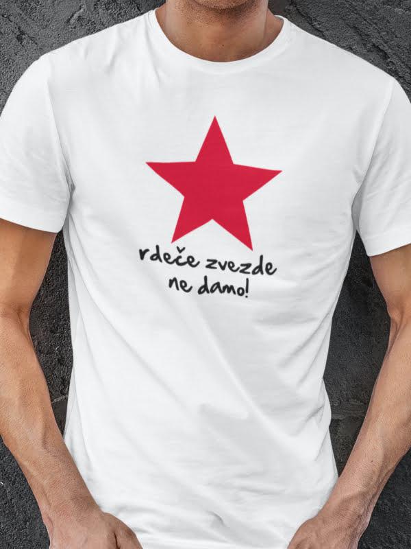 Rdeče zvezde ne damo majica