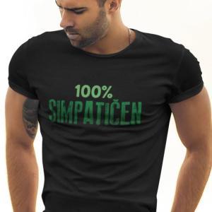 100 Simpatičen, majica