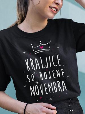 Kraljice so rojene novembra, majica