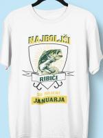 Najboljši ribiči so rojeni januarja, majice