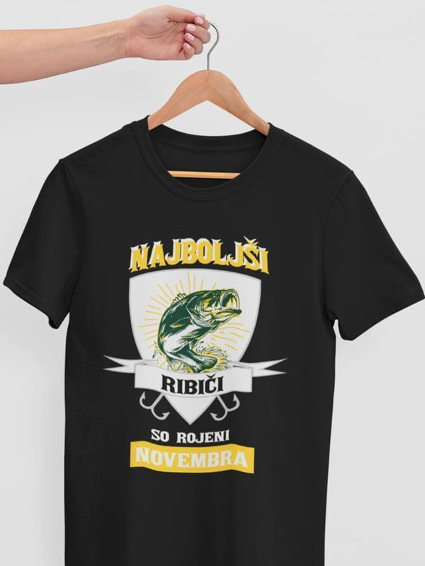Najboljši ribiči so rojeni novembra, majice