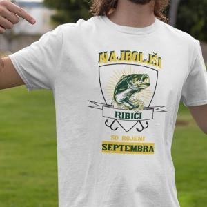 Najboljši ribiči so rojeni septembra, majica