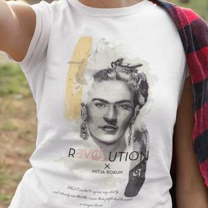 Revolution Frida Kahlo What I wanted to express