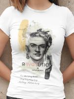 Revolution Frida Kahlo I am that clumsy human