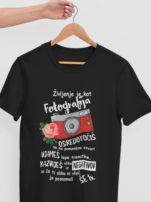 Življenje je kot fotografija, majica