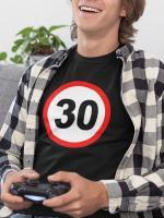 Prometni znak 30 let