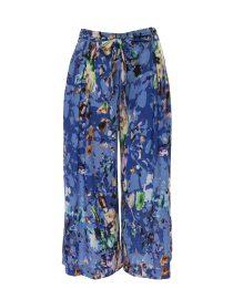 pantaloni culotte print