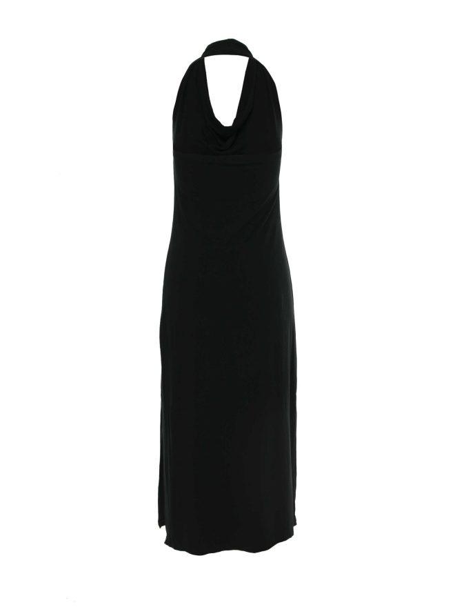 rochie cu decolteu drapat