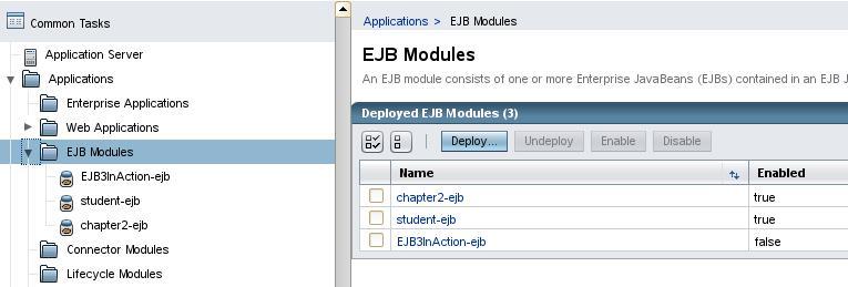 EJB Modules