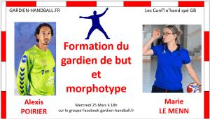Conf'in'hand spé GB #1 : Formation du Gardien et Morphotype (invité : A. Poirier)