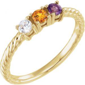 Gardiner's Jewelry Catalog Stuller's Mother's Ring