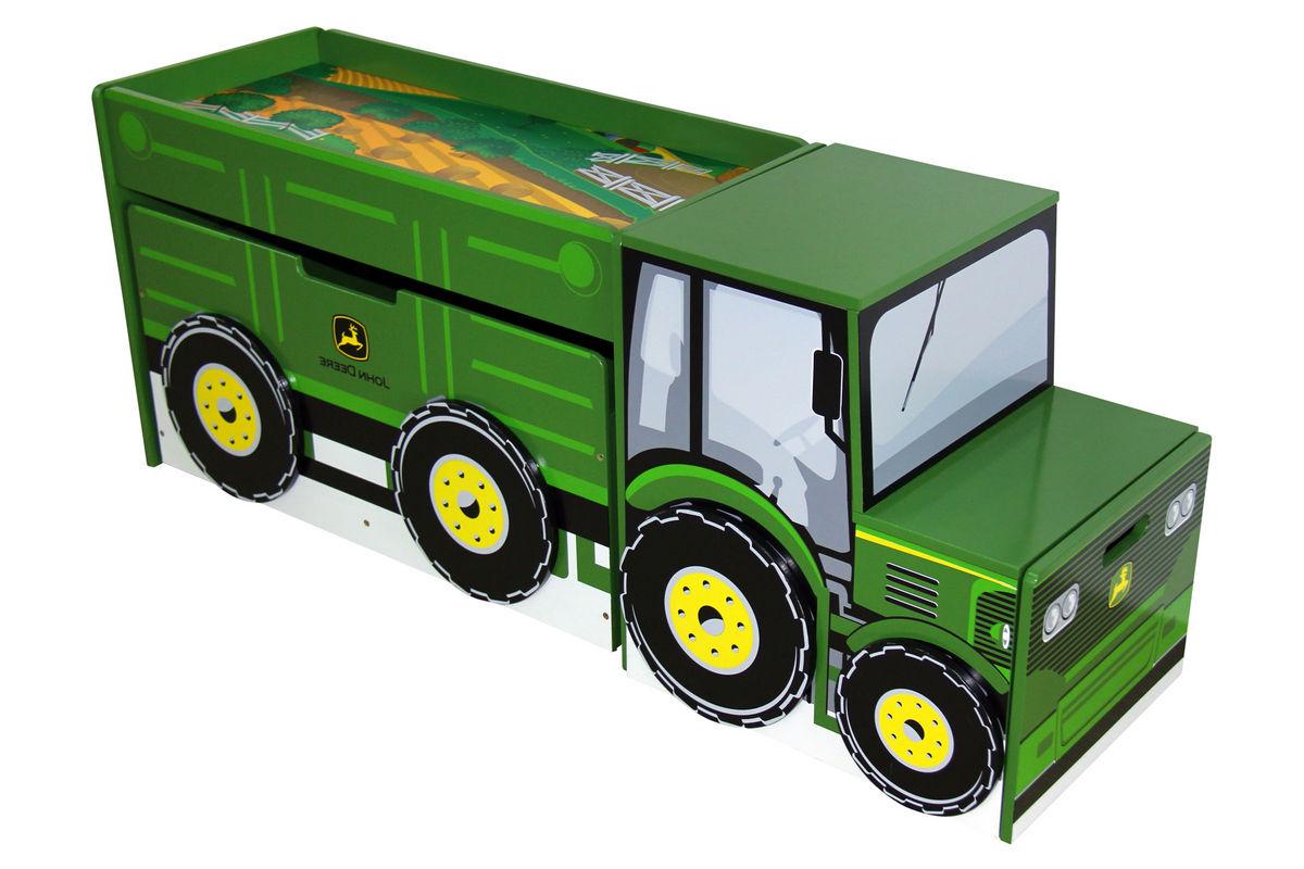 John Deere Tractor Toy Box Set At Gardner White