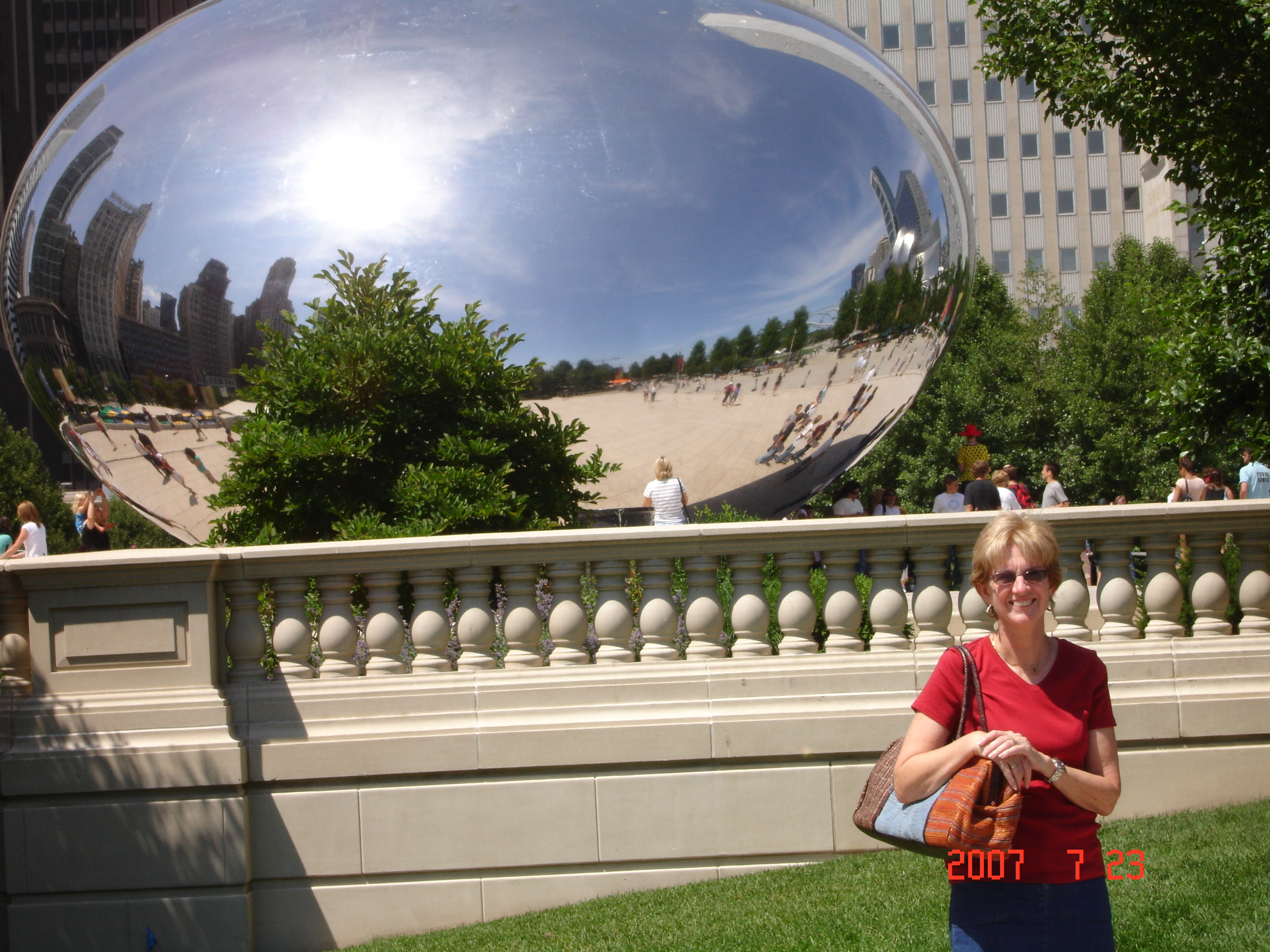 The Bean in Millennium Park