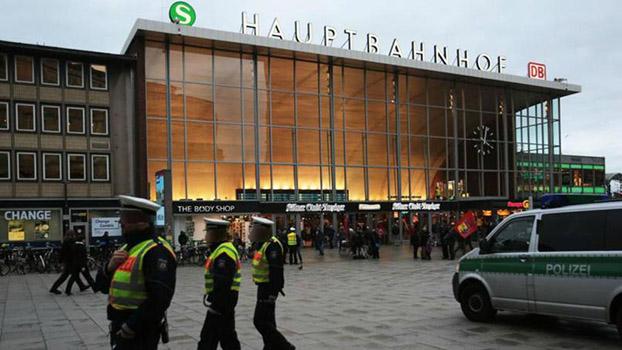 gare centrale de Cologne