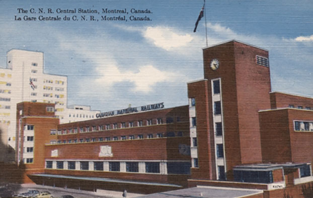 gare centrale de Montreal