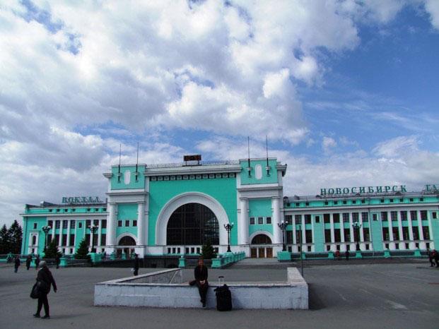 gare centrale de Novossibirsk
