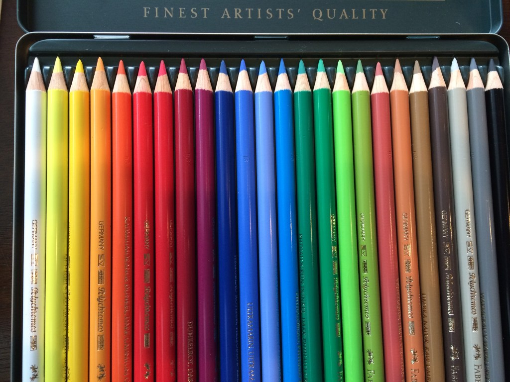 Ive Probably Had These Faber Castells For A Year And Yet To Take The Shrink Wrap Off Nothing Better Than Fresh Colored Pencils