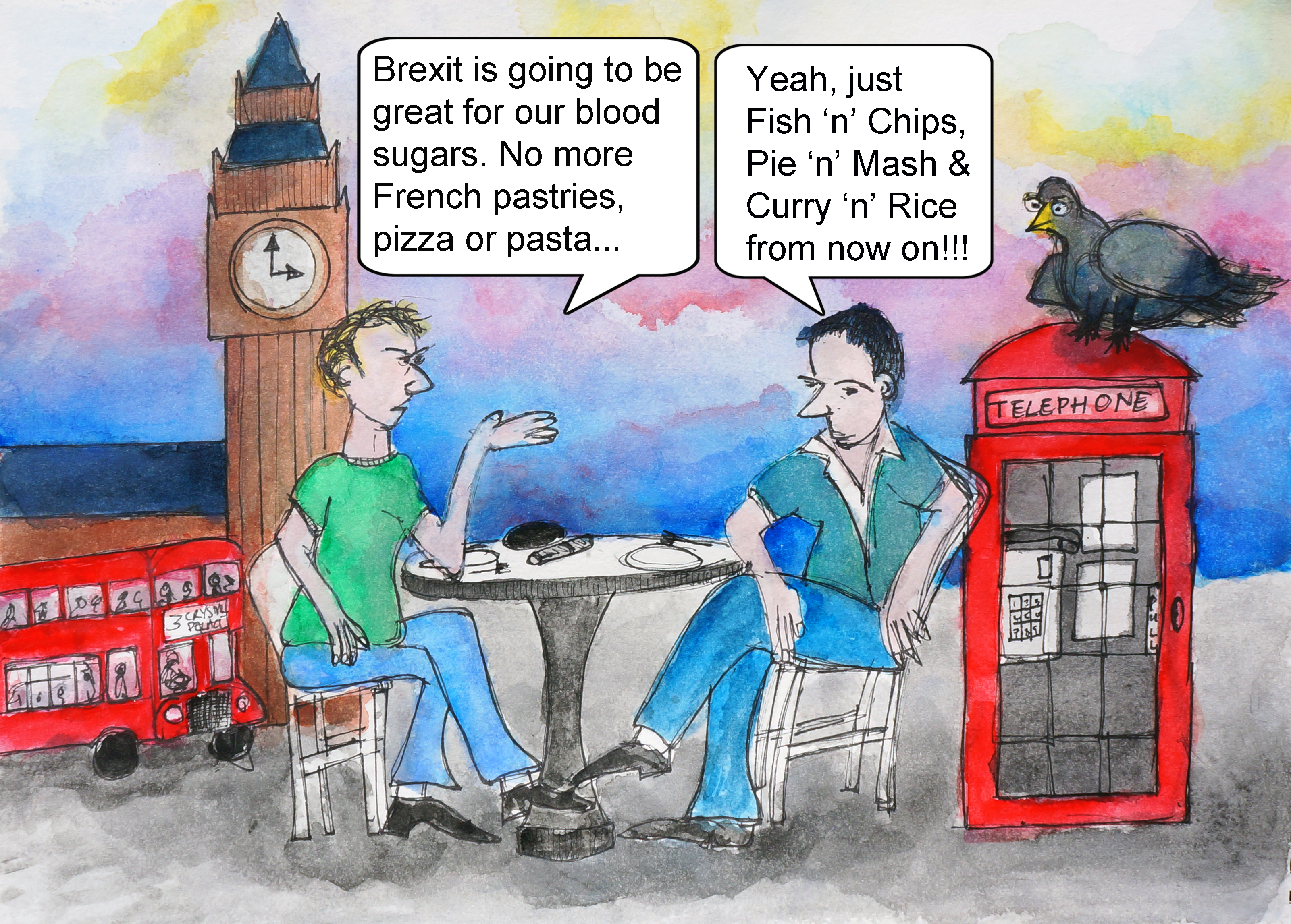 Diabetes Cartoons Gareth Morgan Visual Artist