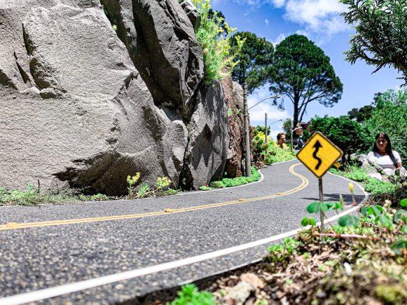 Réplica da estrada de Nova petrópolis (RS)