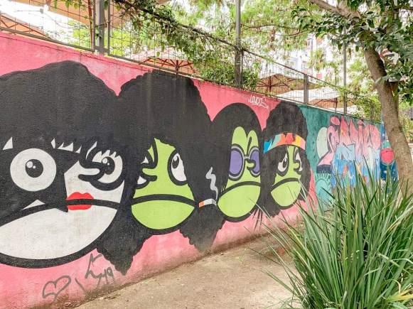 muro beco do batman