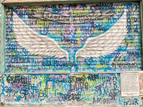 asas de anjo beco batman