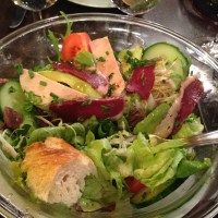 The Magical French Salad that Pairs with Red Wine: the Salade Landaise