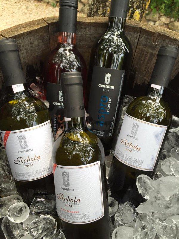 Gentilini's wines.