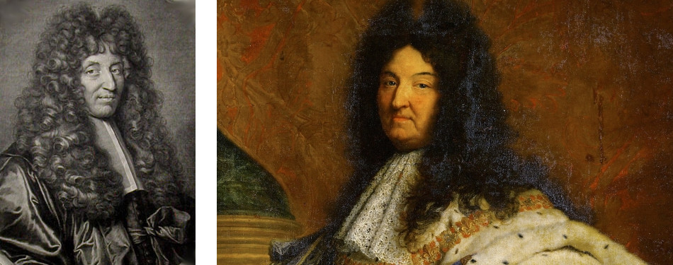Guy-Crescent Fagon, Royal Physician, and Louis XIV.
